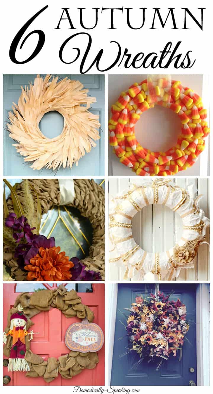 6 Autumn Wreaths
