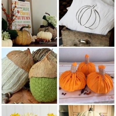 DIY Autumn Decor Crafts