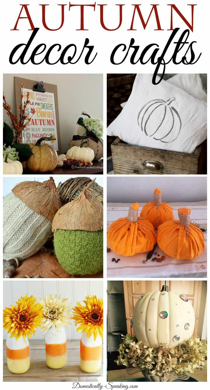 Autumn Decor Crafts