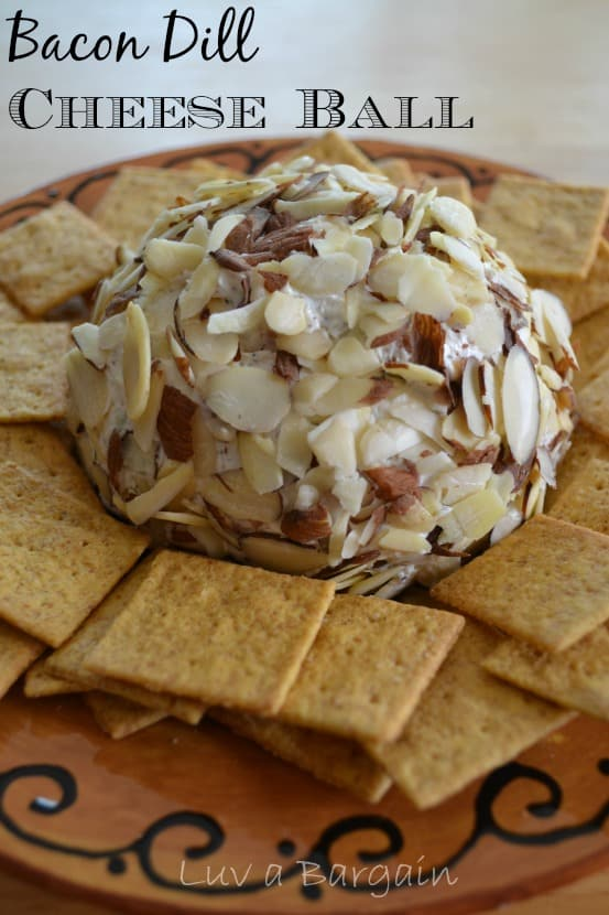 Bacon Dill Cheese Ball from To Simply Inspire