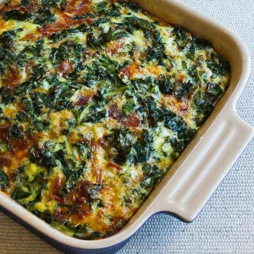 Bacon and Cheese Breakfast Casserole from Kalyns Kitchen