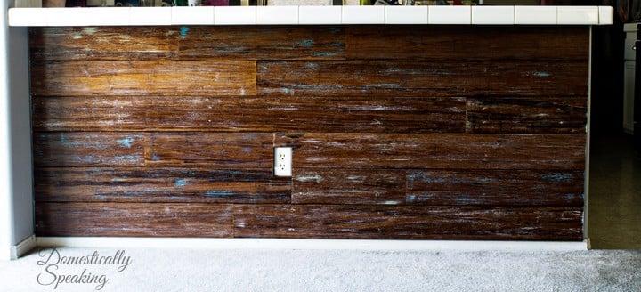Barstool Plank Wall 9