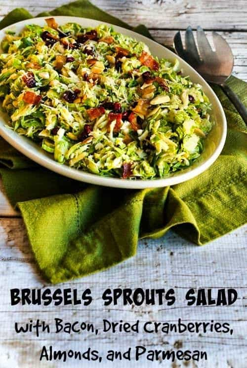 Brussels Sprouts Salad from Kalyns Kitchen
