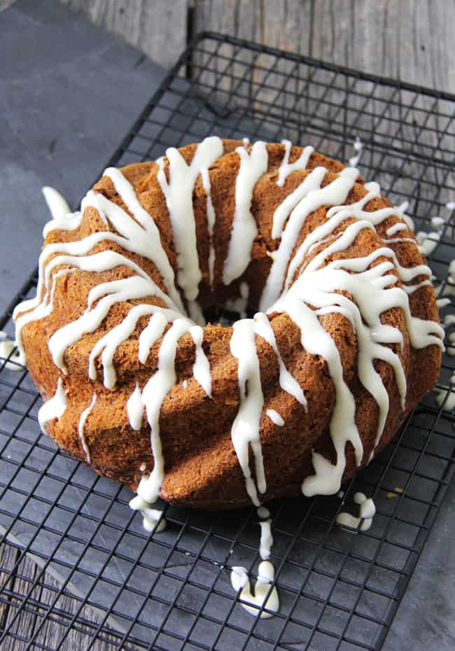 Carrot Pumpkin Bundt Cake from A Pretty Life in the Suburbs