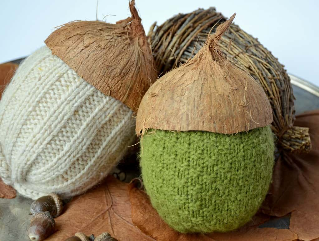 Coco Nutty Sweater Acorns from Dandelion Patina