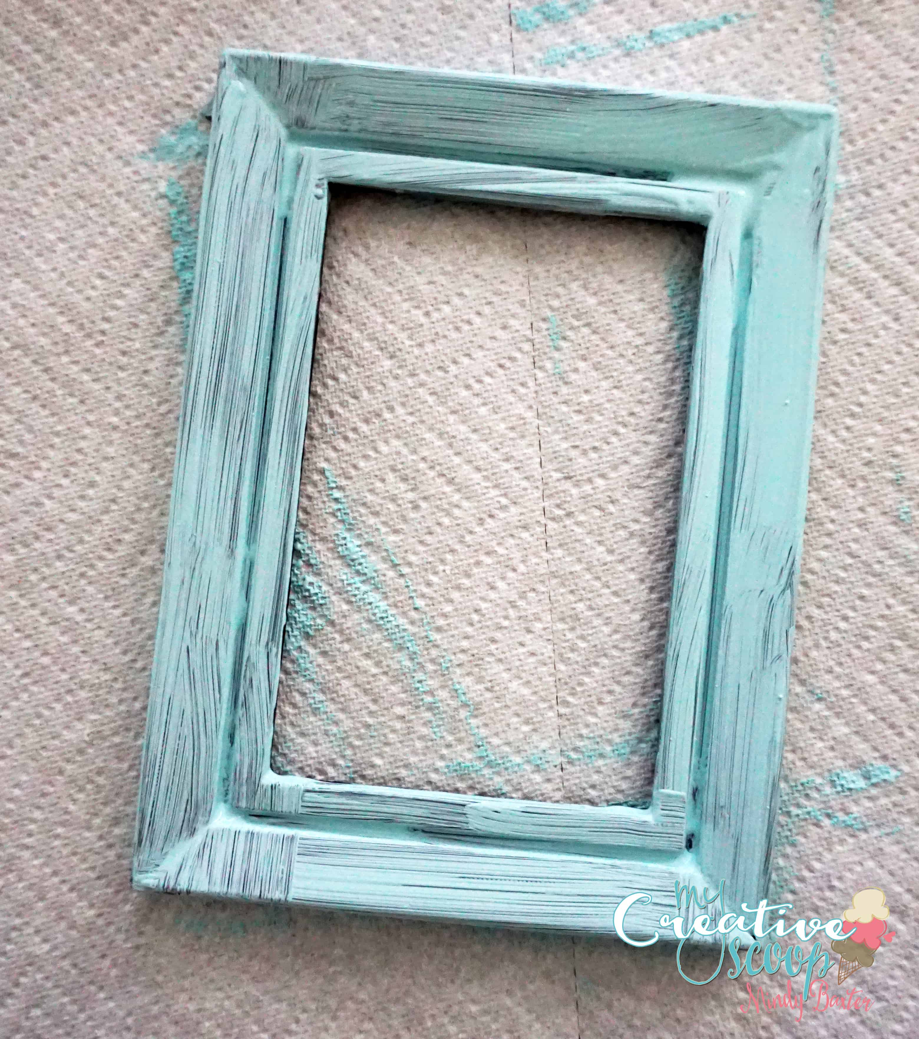 diy chalkboard burlap frame 4 - Diy Chalkboard Frame