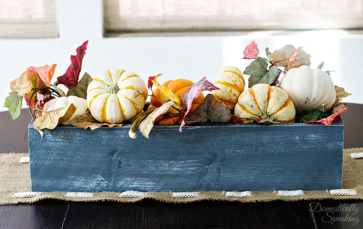 Fall Rustic Trough 3
