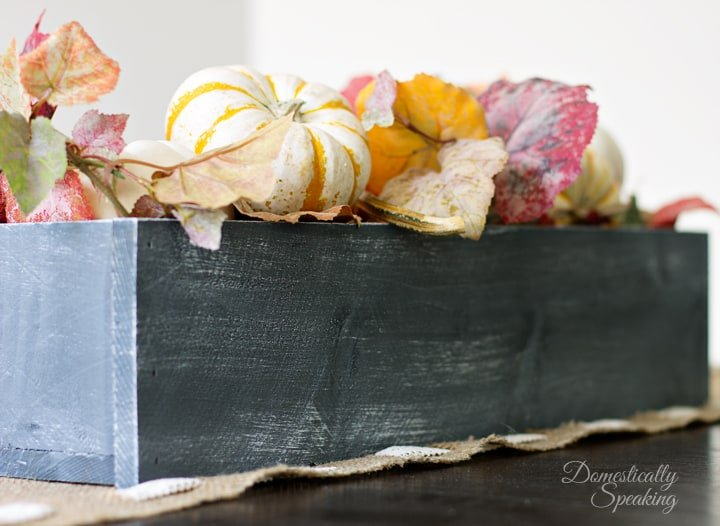 Fall Rustic Trough 5