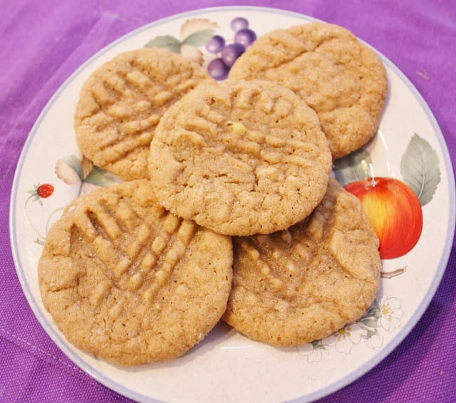 Fat Chewy Peanut Butter Banana Cookies from Best of Long Island and Central Florida