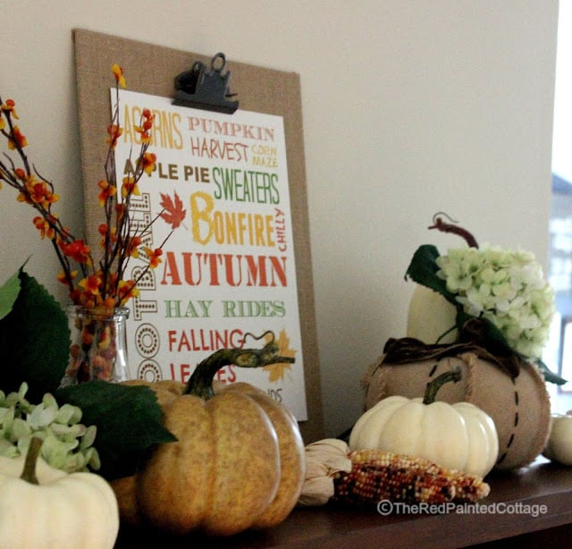 Free Fall Printable from The Red Painted Cottage