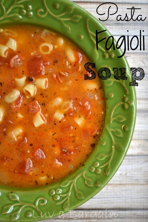 Pasta-Fagioli-Soup with Bacon from To Simply Inspire
