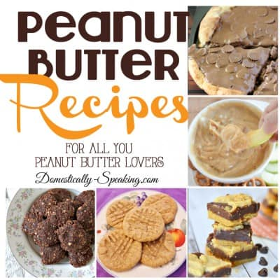 Recipes with Peanut Butter   Friday's Features