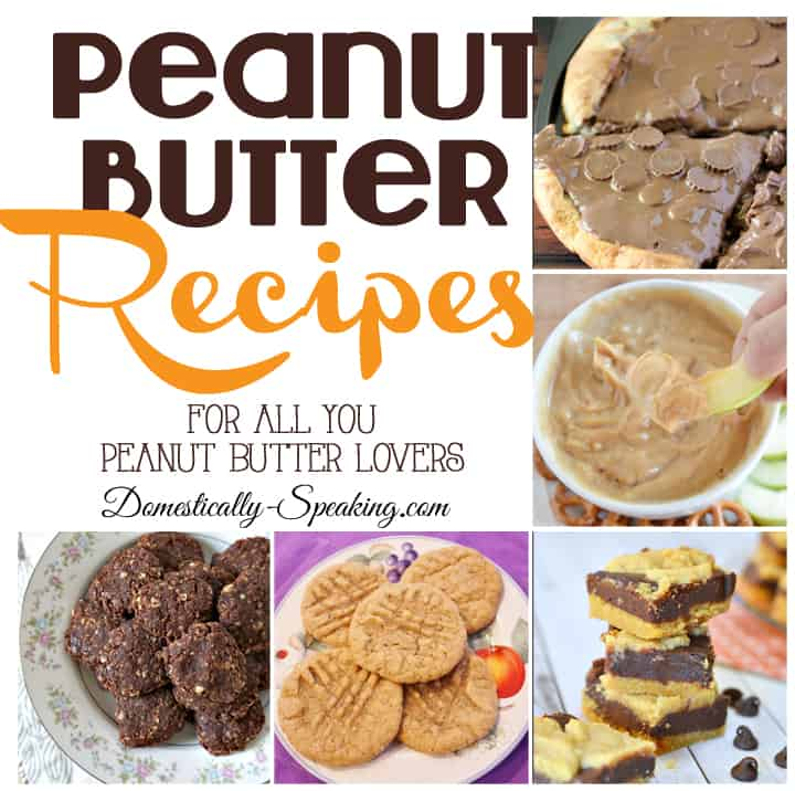 Peanut Butter Recipes you will love