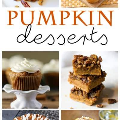Pumpkin Dessert Recipes