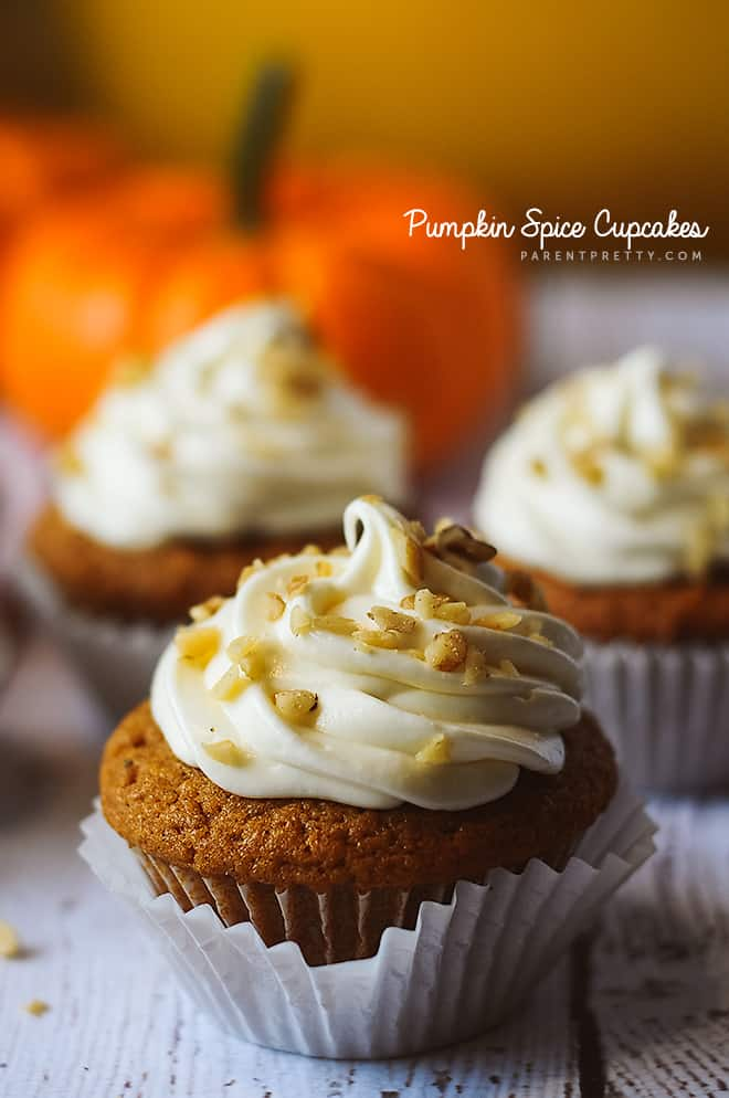 pumpkin-spice-cupcakes from Parent Pretty