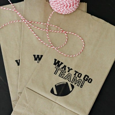 Sports Goodie Bag Free Printable Update with Volleyball