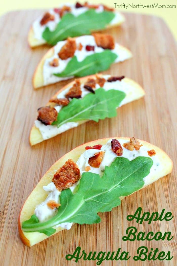Apple-Bacon-Argula-Bites from Thrifty Northwest Mom