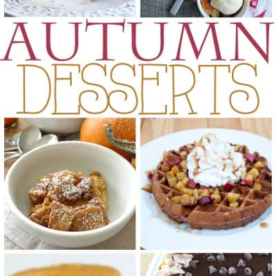Autumn Desserts… lots of pumpkin and apple treats