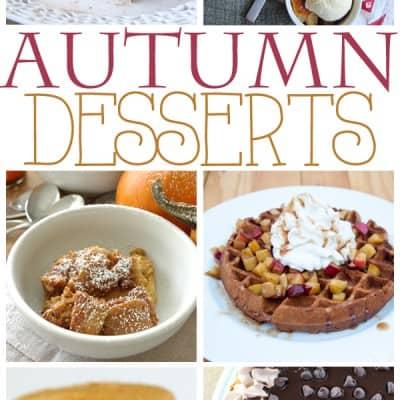 Autumn Desserts… lots of pumpkin and apple treats