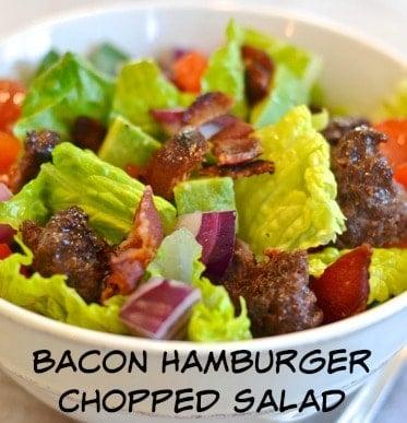 Bacon-Hamburger-Chopped-Salad from Making of a Mom