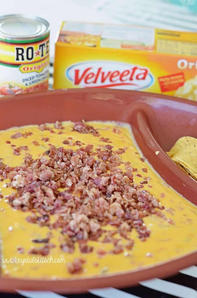 Bacon Queso Dip from Krystals Kitsch