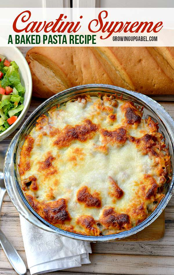 Cavetini-Baked-Pasta-Recipe from Growling Up Gabel