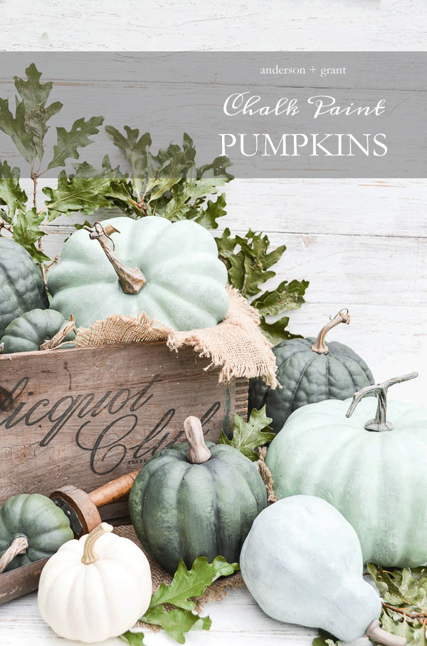 DIY-Chalk-Paint-Pumpkins- Anderson and Grant