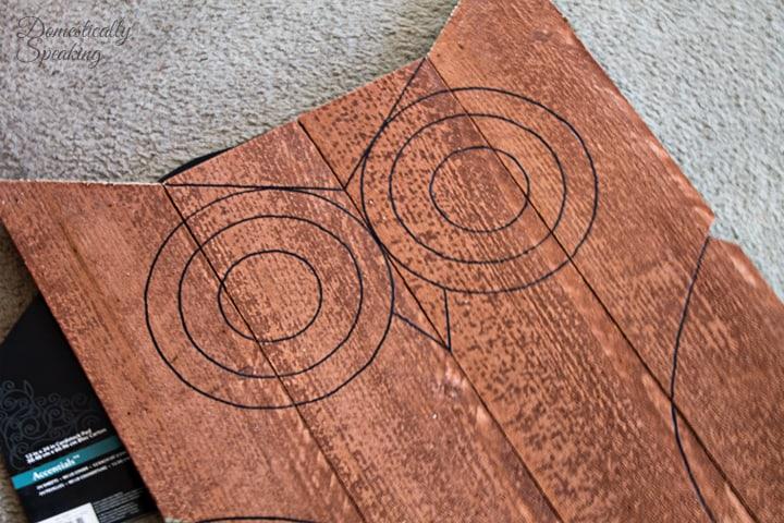 DIY Easy Wood Owl 4