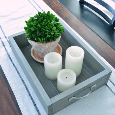 DIY Wooden Tray