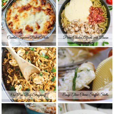 Delicious Pasta Recipes | Friday Features