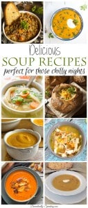 Delicious Soup Recipes perfect for those chilly nights