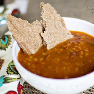 Fall Soup and Whole Wheat Flat Bread