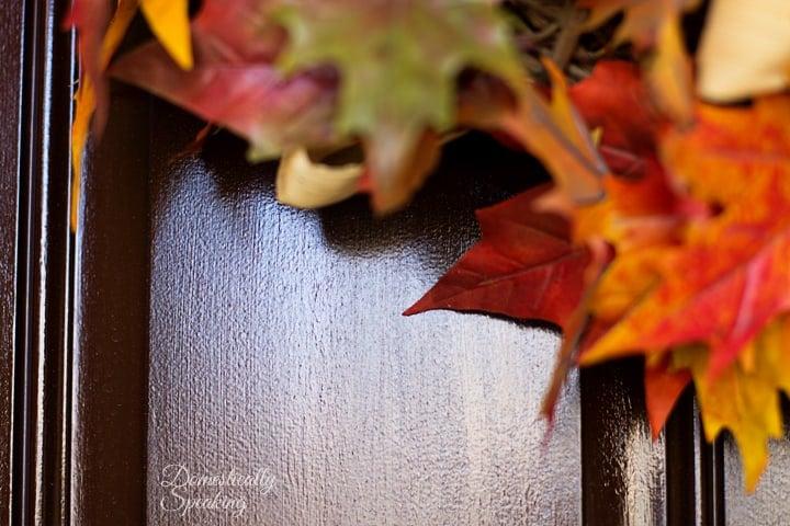 Front Door After Gel Stain 1