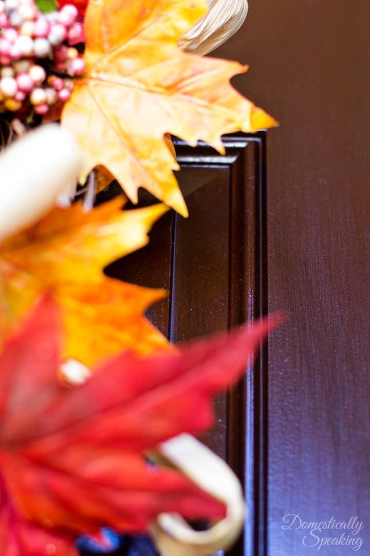Front Door After Gel Stain 2