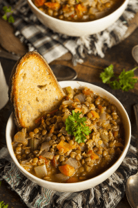 Italian Lentil Soup from Girl Raised in the South