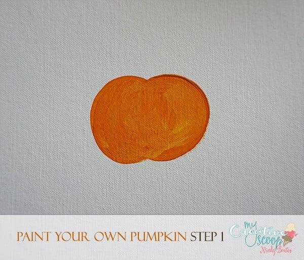 Paint Your Own Pumpkin 1