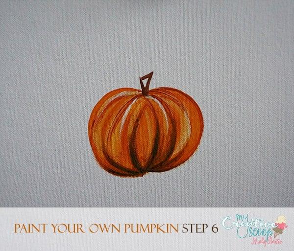 Paint Your Own Pumpkin 6
