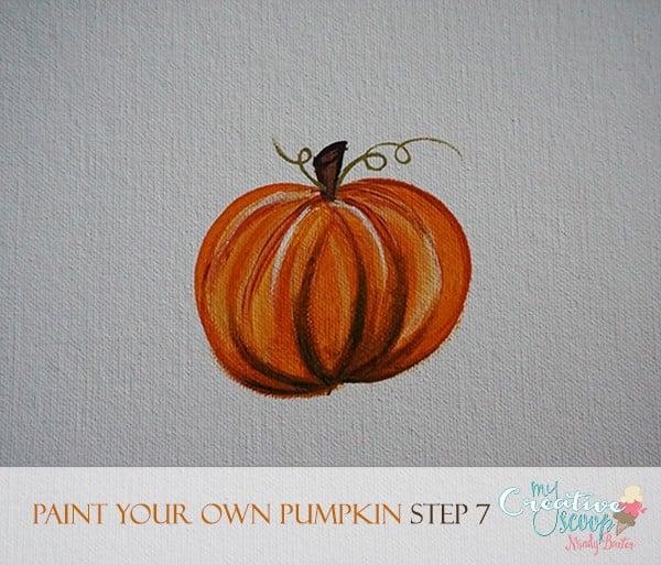 Paint Your Own Pumpkin 7