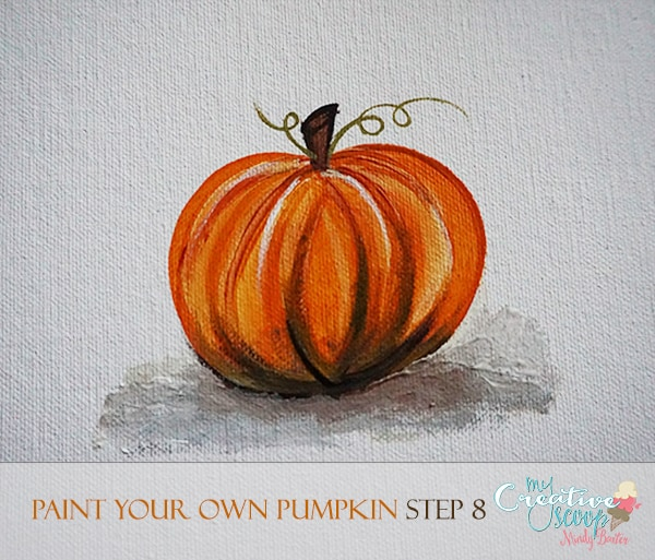 Paint Your Own Pumpkin 8