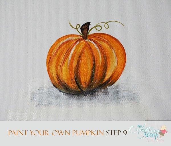 Paint Your Own Pumpkin 9