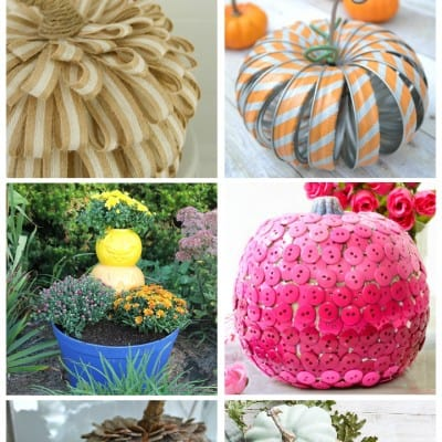Pumpkins… crafts and home decor