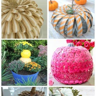 Pumpkins… crafts and home decor