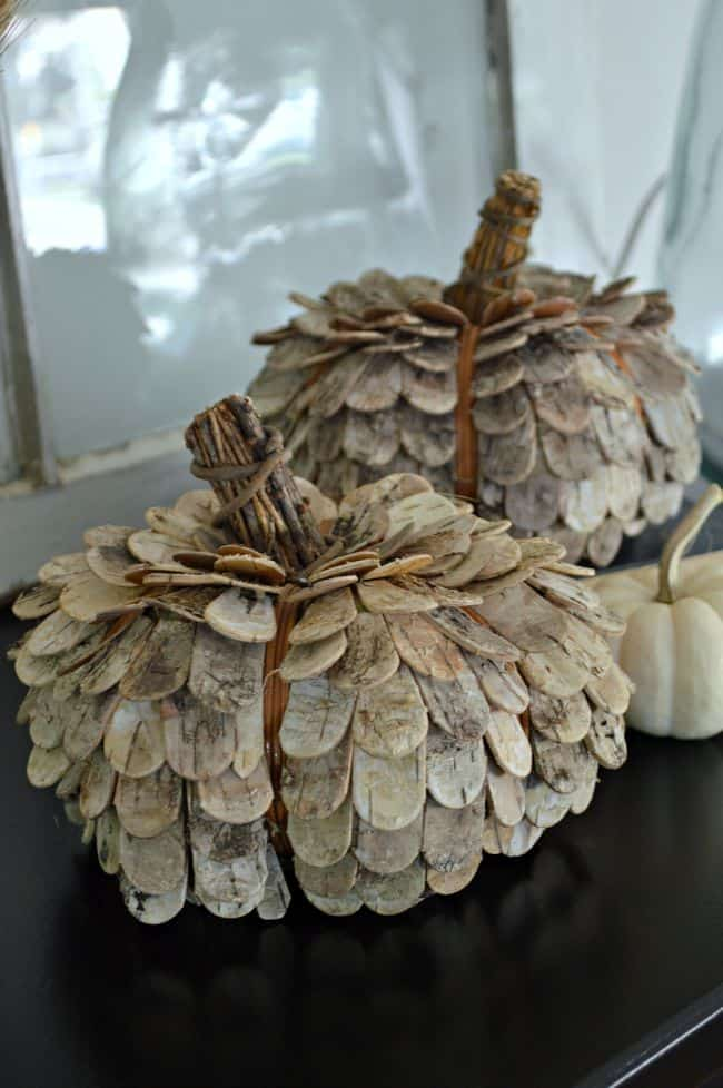 Rustic Natural Pumpkin from Chatfield Court