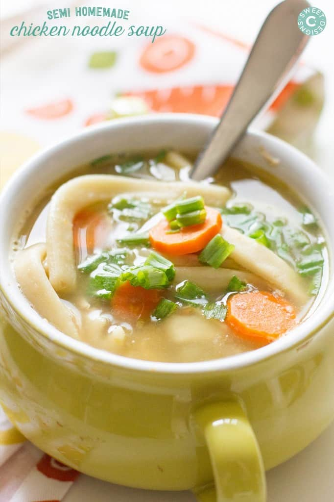 This-is-the-BEST-soup-when-youre-sick-and-its-so-easy-to-make from Sweet Cs Design