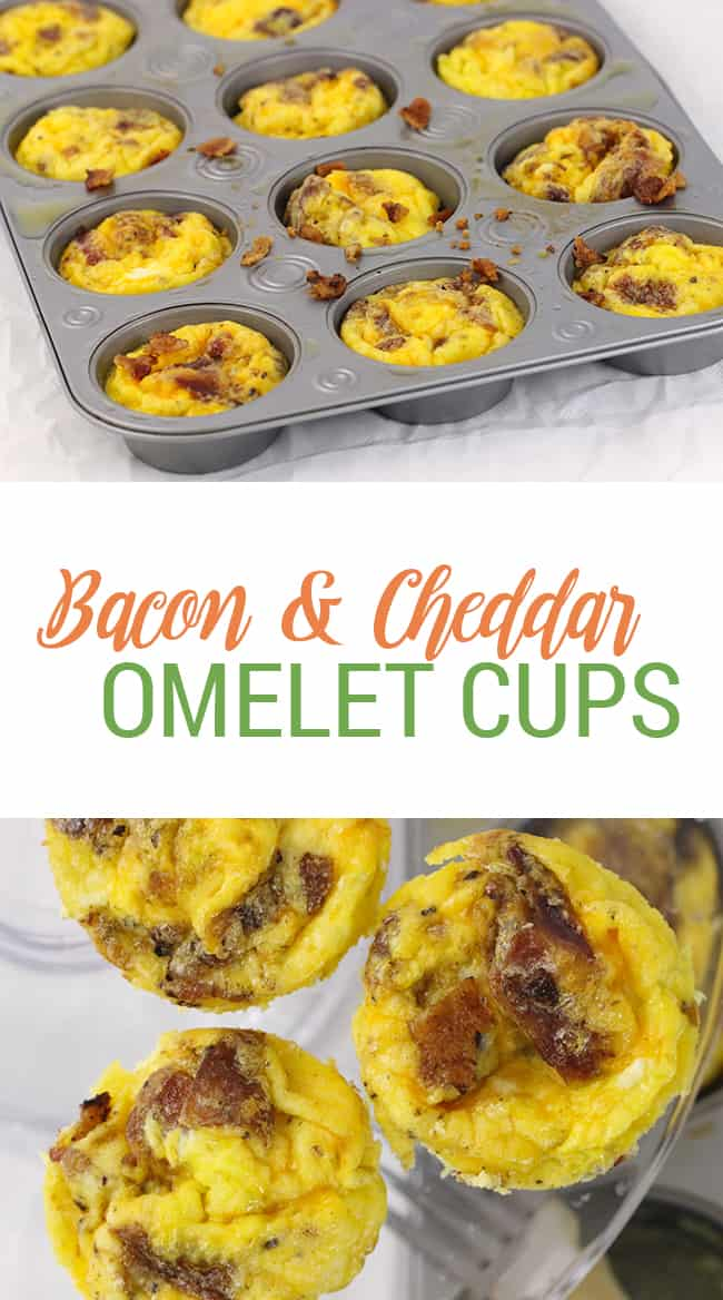 bacon-cheddar-omelet-cups from Homemaking Hacks