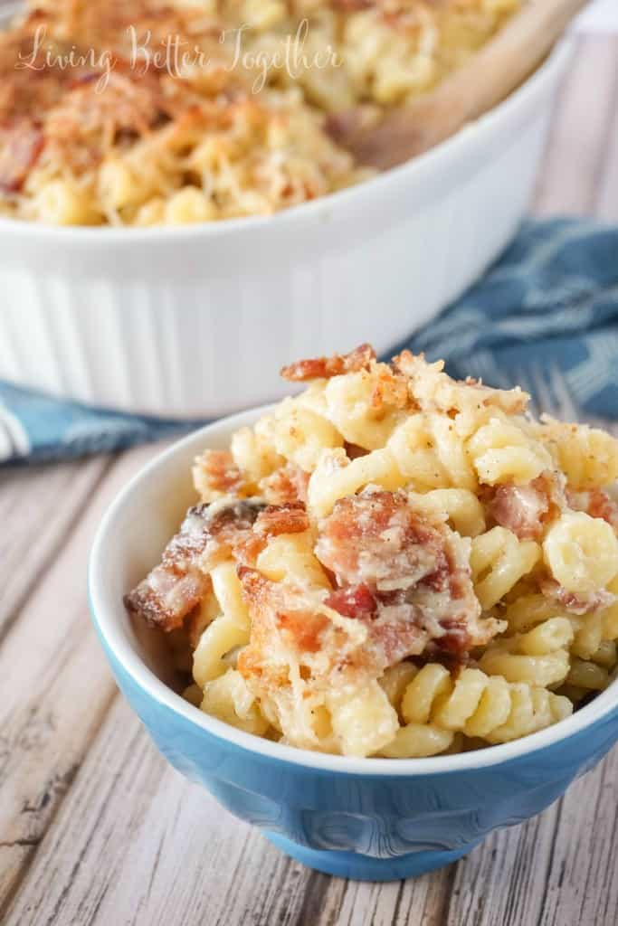 homemade-bacon-mac-cheese from Sugar and Soul