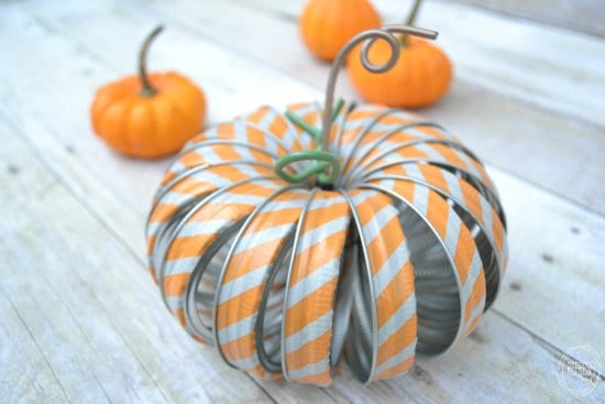 mason-jar-ring-pumpkins-with-washi-tape from Refresh Living