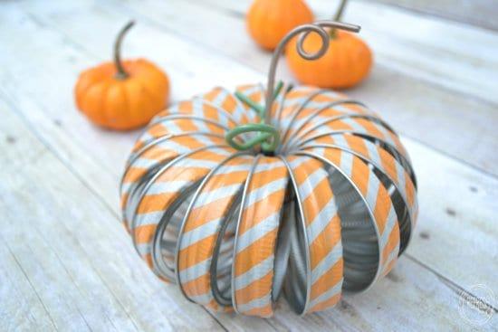 mason-jar-ring-pumpkins-with-washi-tape from Refresh Living