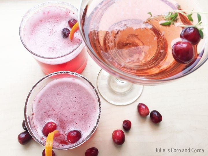 7up-mocktail-cranberry-thyme-and-orange-cranberry from Julie is Coco and Cocoa