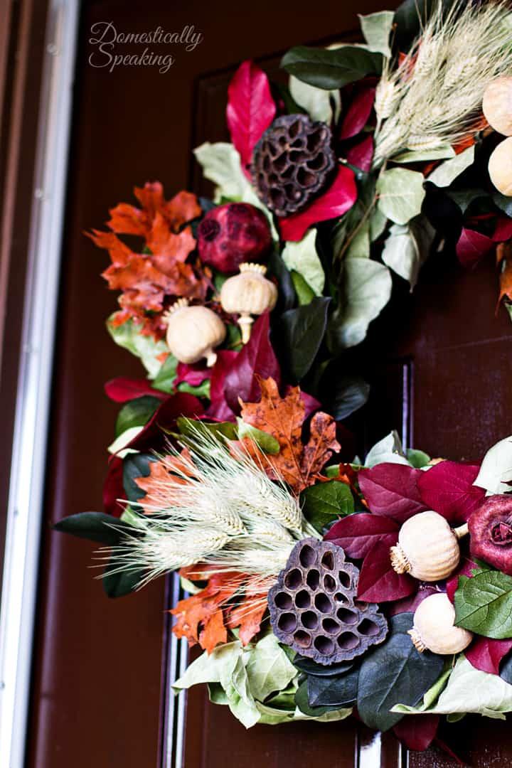 Beautiful Autumn Wreath 1
